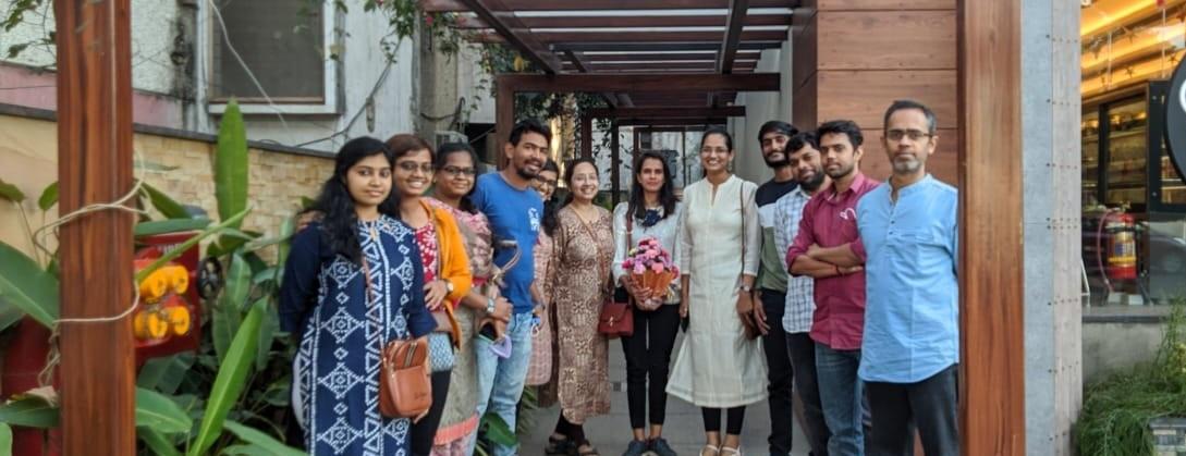 Krishnan H Harshan-Group Pic